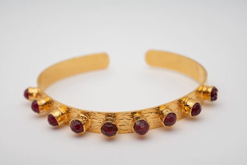 Picture of KATERINA BRACELET THIN  - BROWN