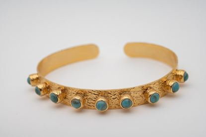 Picture of KATERINA BRACELET THIN - TURQUOISE