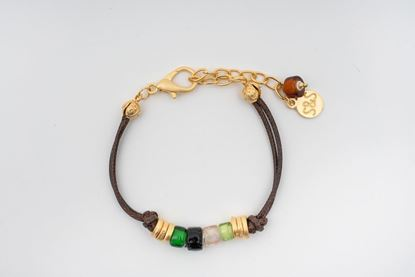 Picture of PANTONE LEATHER BRACELET - MULTICOLOR