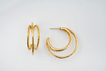 Picture of TRIPLE HOOP EARRING