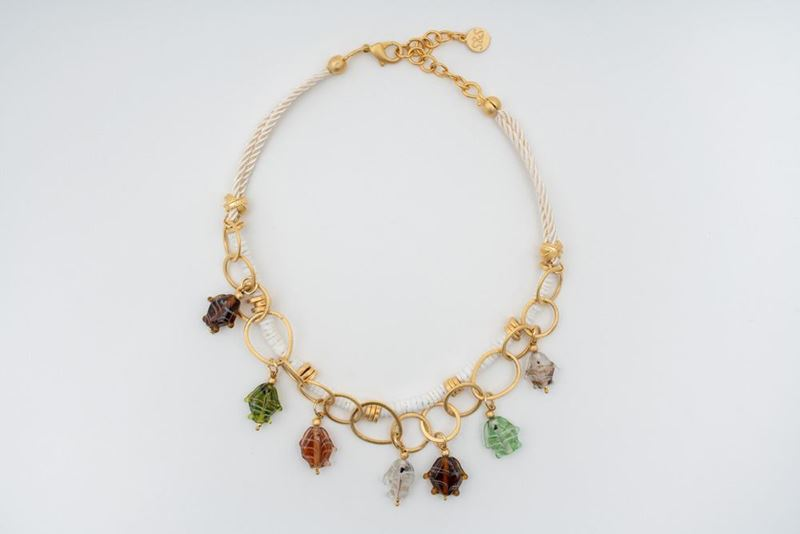 Picture of ACUARIO NECKLACE - WHITE