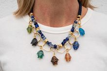 Foto de ACUARIO NECKLACE - BLUE
