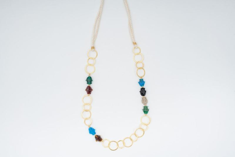 Picture of ACUARIO LONG NECKLACE