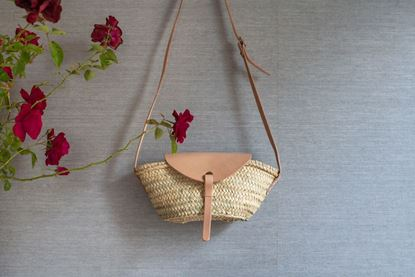 Foto de MINI BASKET - NUDE LEATHER