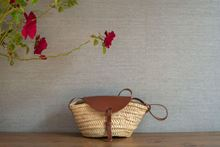 Picture of MINI BASKET - CHOCOLATE LEATHER