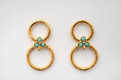 Picture of LOLA EARRINGS - TURQUOISE