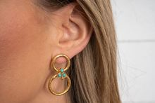 Foto de LOLA EARRINGS - TURQUOISE
