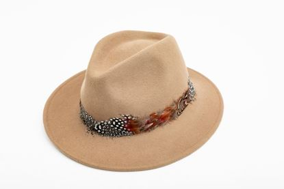 Picture of FEATHER CAMEL HAT