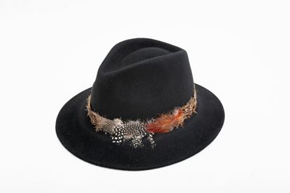 Picture of FEATHER BLACK HAT