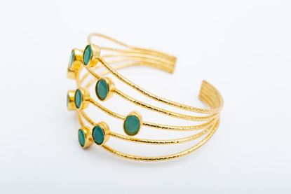 Picture of CHISPA XL BRACELET - GREEN