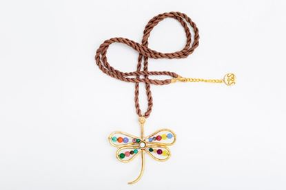 Picture of DRAGONFLY PENDANT - MULTICOLOR