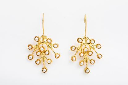 Picture of PUNTILLISTA EARRINGS PEARL
