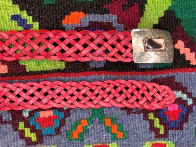 Picture of PLAITED RED BELT