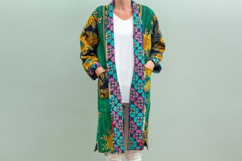 Picture of LONG REVERSIBLE GIPSY COAT 1