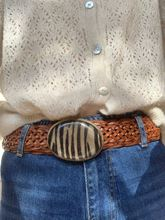 Picture of CHOCOLATE - ANIMAL PRINT BELT