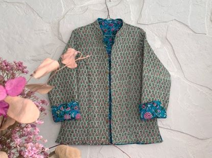 Picture of REVERSIBLE GIPSY JACKET L - 4