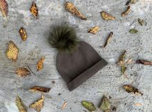 Picture of POMPON HAT GREEN